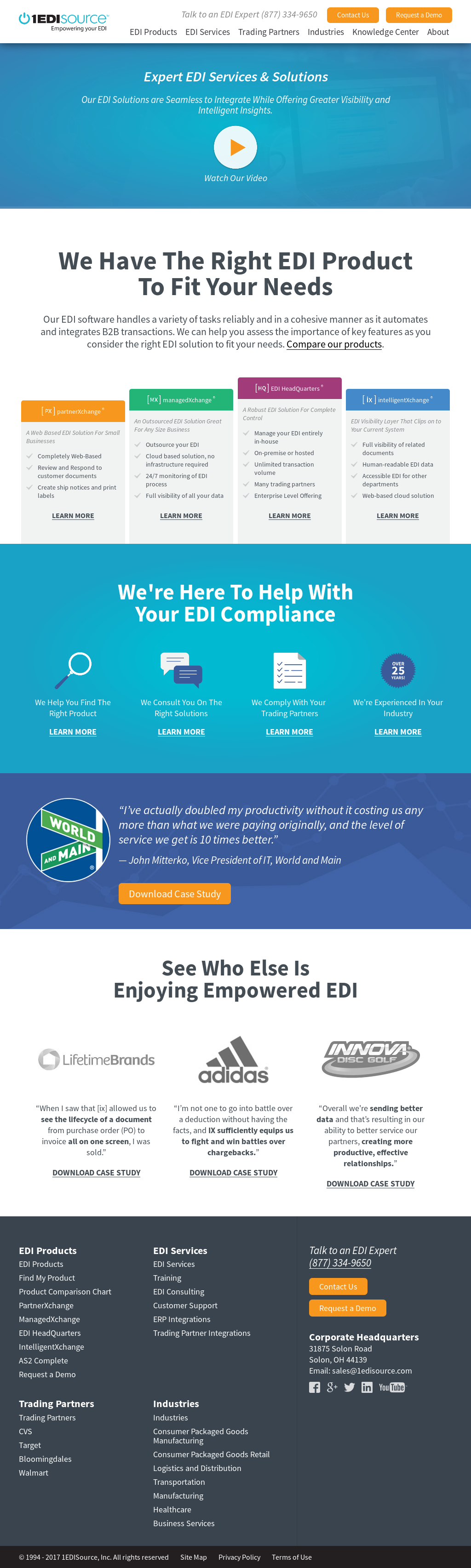 1 EDI Competitors, Revenue and Employees - Owler Company Profile