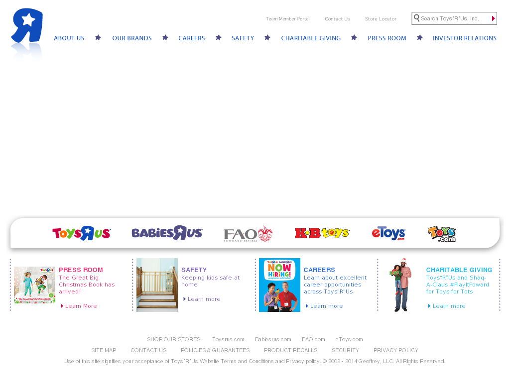 toys r us website history