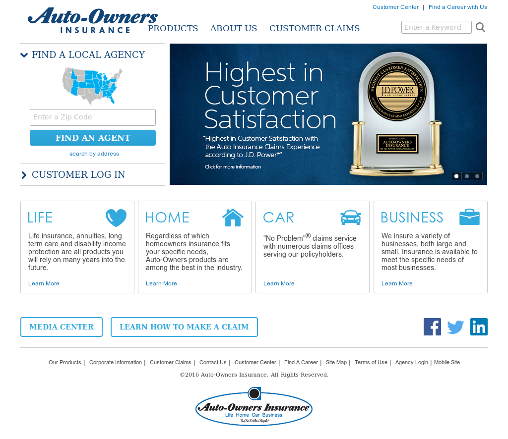 Auto Owners Login >> Owler Reports Auto Owners Insurance Auto Owners Insurance