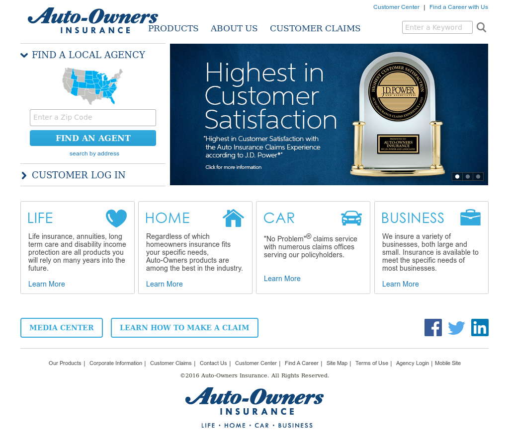 Auto Owners Login >> Auto Owners Insurance Competitors Revenue And Employees
