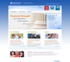 Western & Southern Financial Group website history
