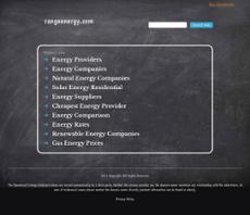 Rango Energy website history