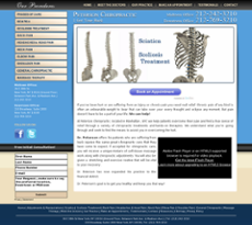 Peterson Chiropractic website history
