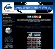 Santana website history