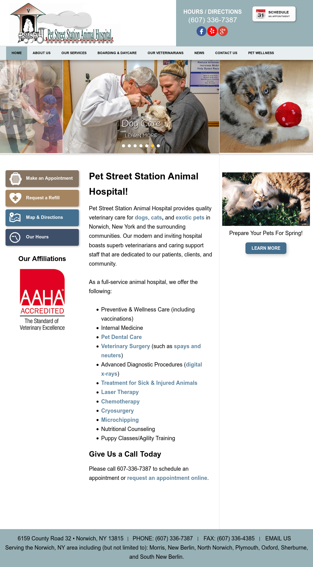 Pet Street Station Animal Hospital Competitors, Revenue and