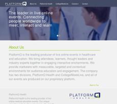 PlatformQ website history