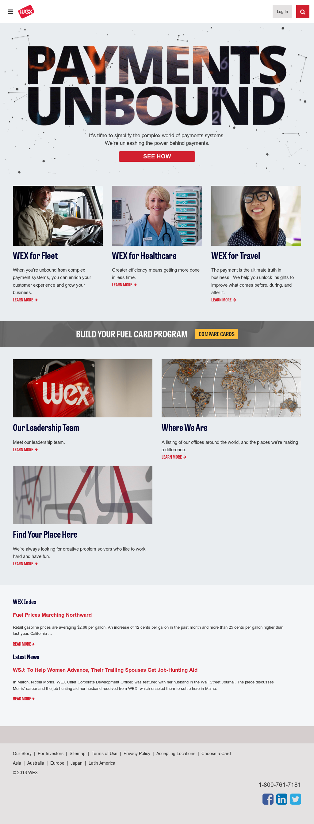WEX Competitors, Revenue and Employees - Owler Company Profile