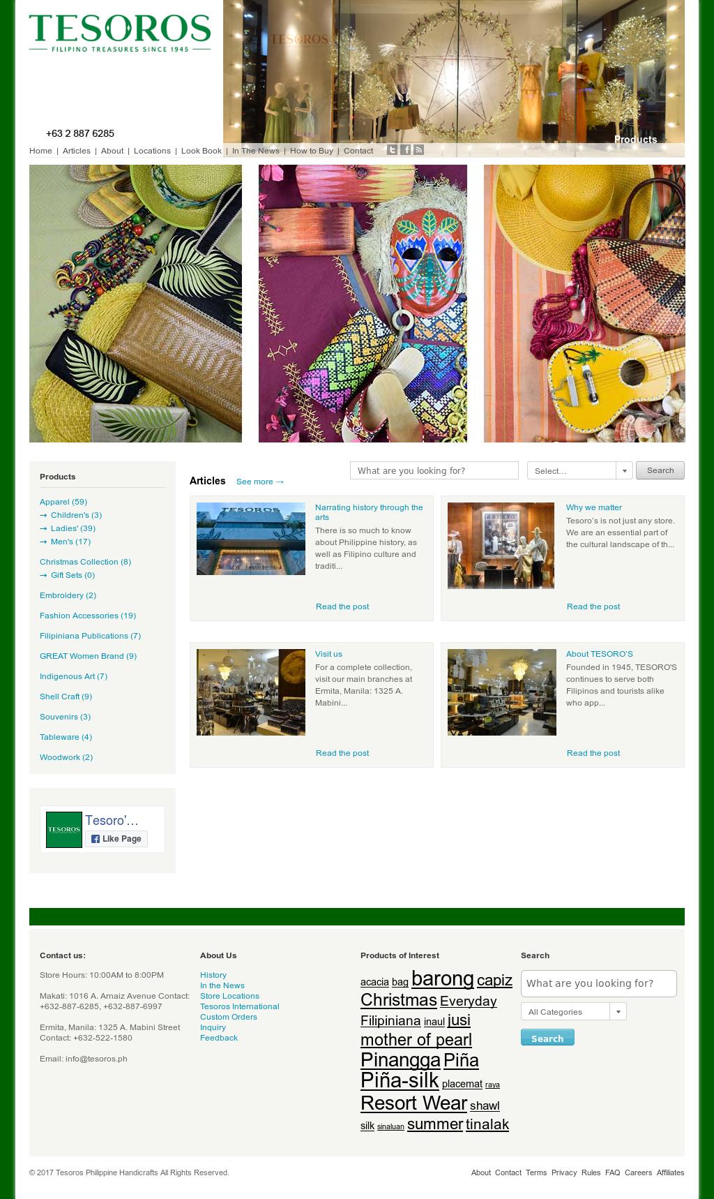 Tesoro S Philippine Handicrafts Competitors Revenue And Employees