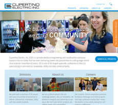 Cupertino Electric website history