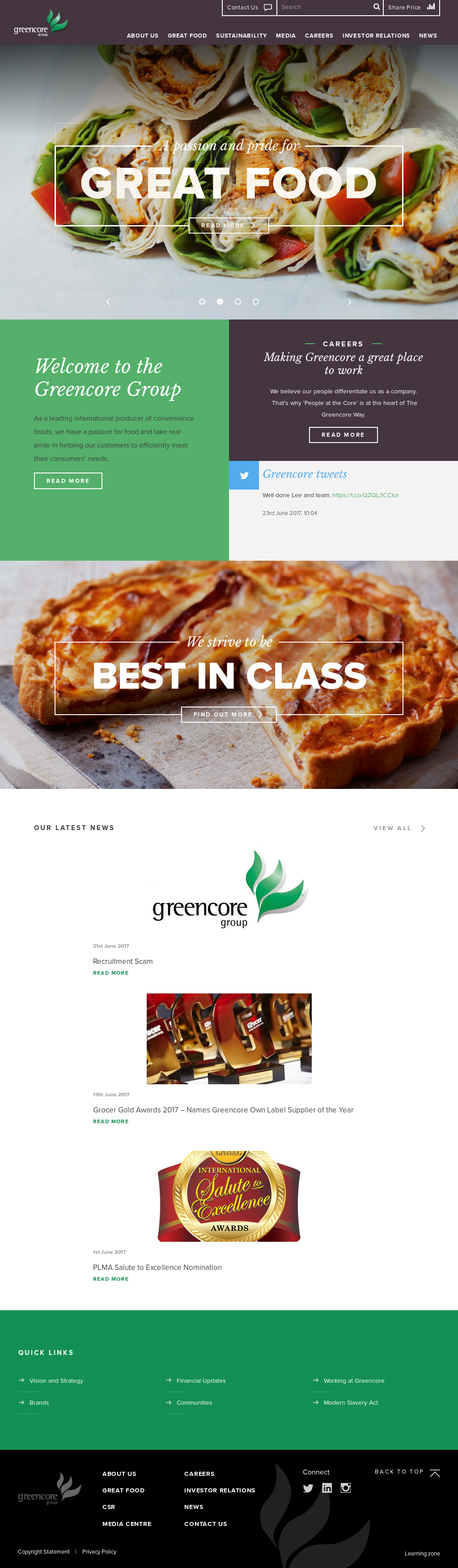 company overview greencore With a hoovers subscription you can get a comprehensive view of greencore  group public limited company.