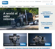 Haldex website history