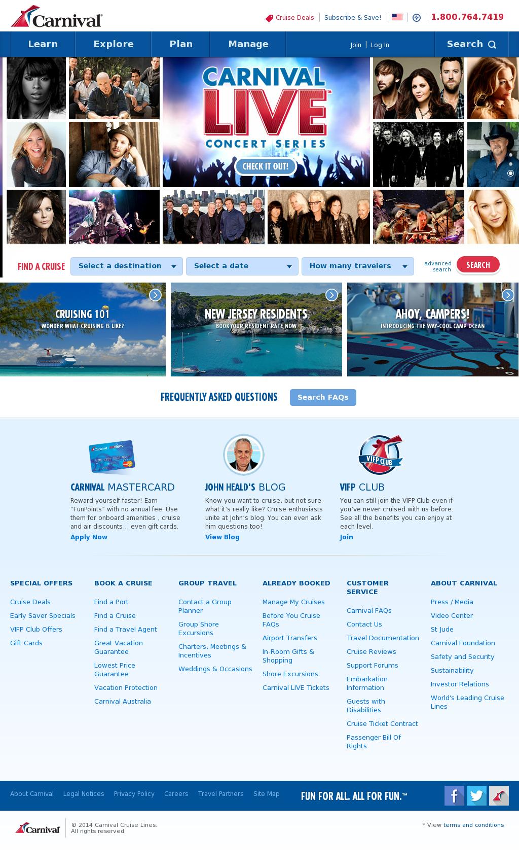 carnival corporation competitors