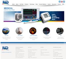 New VIsion Display website history