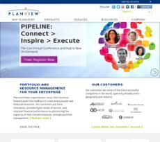 Planview website history