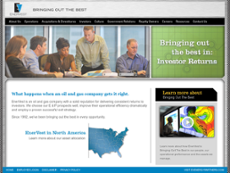 EnerVest website history