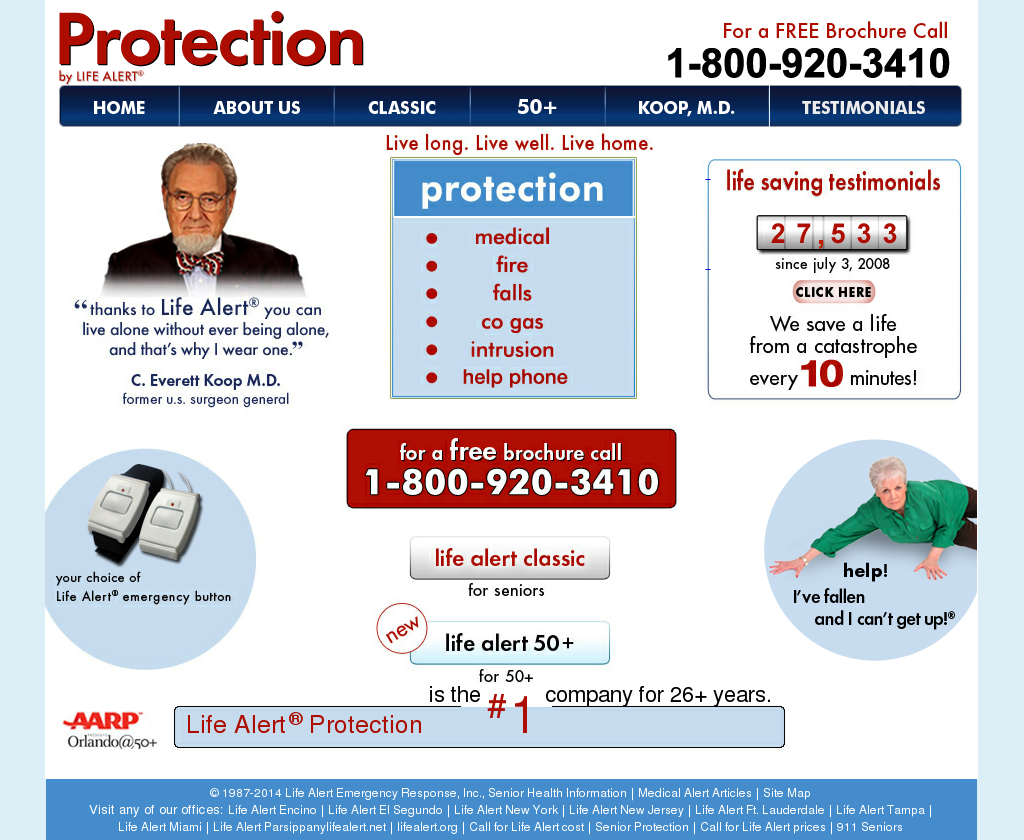 Life Alert Is A Personal Emergency Response Competitors Revenue And