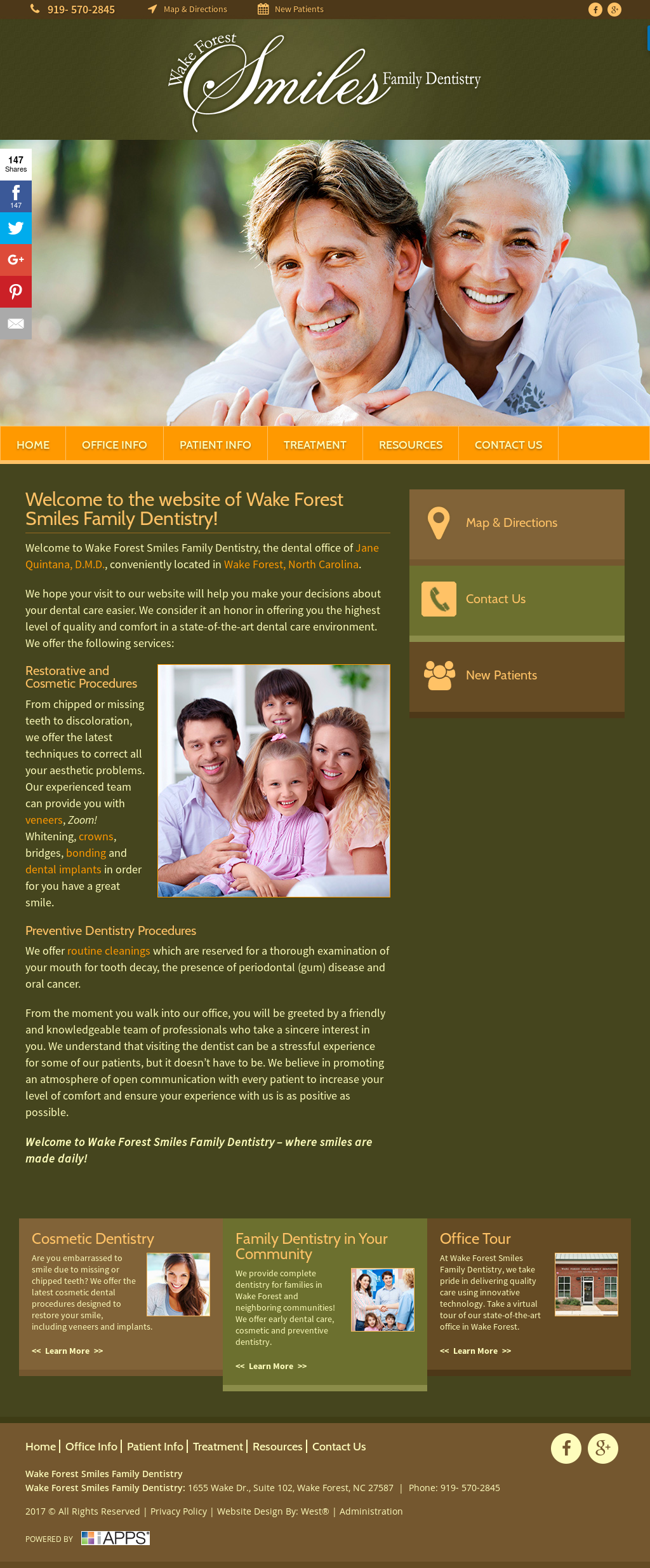 Wake Forest Smiles Family Dentistry Competitors, Revenue and