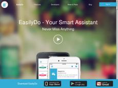 EasilyDo website history