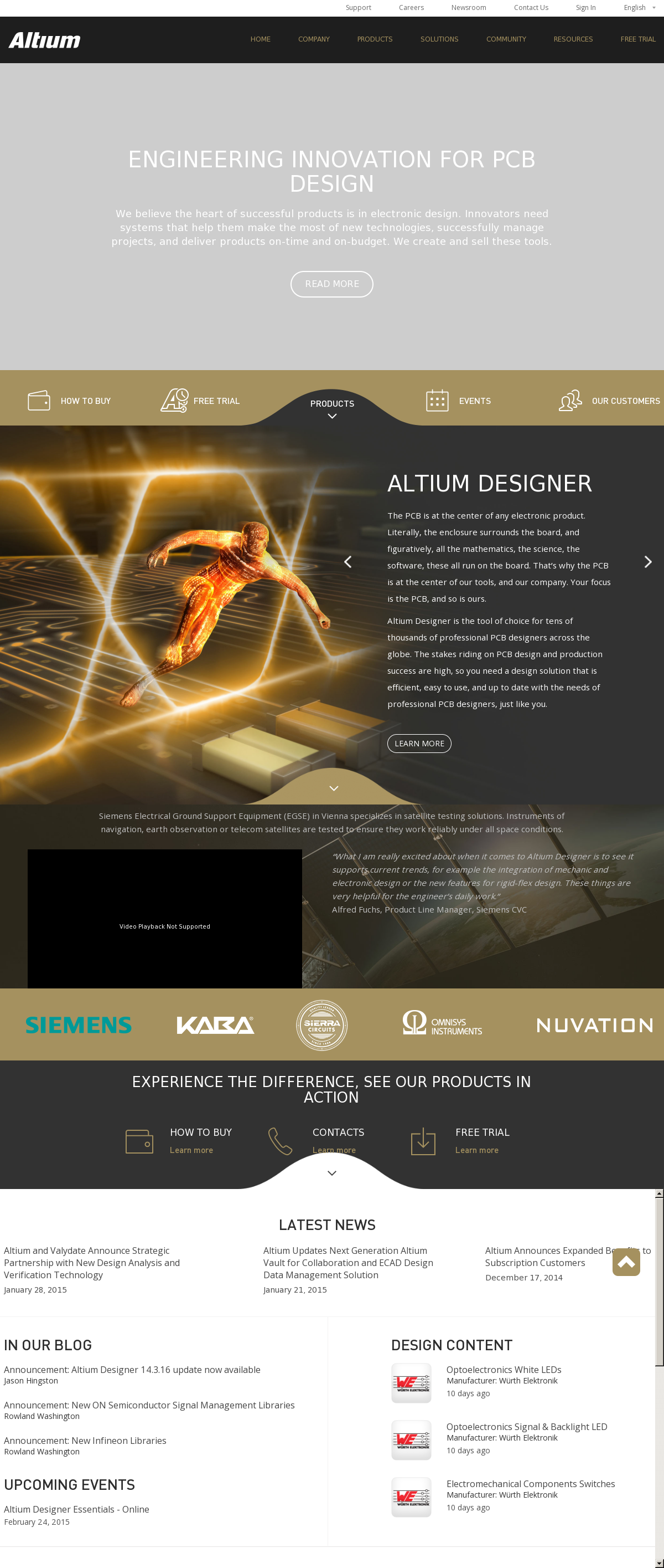 Owler Reports - Press Release: Altium : Altium Vault 3 0