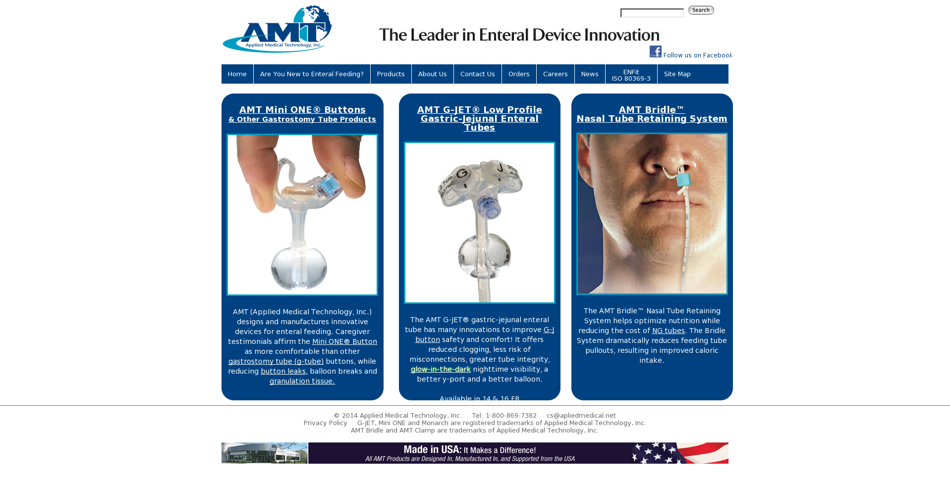 Applied Medical Technology, Inc Competitors, Revenue and