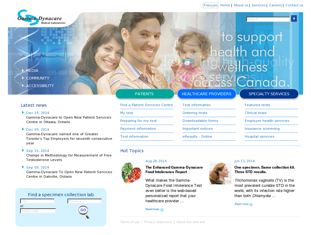 Gamma-Dynacare Competitors, Revenue and Employees - Owler
