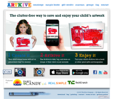 Artkive website history