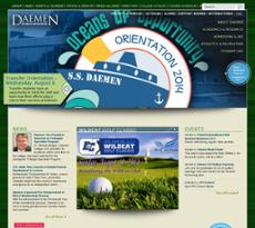 Daemen College website history