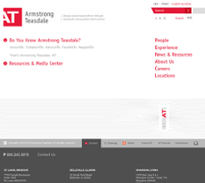 Armstrong Teasdale website history
