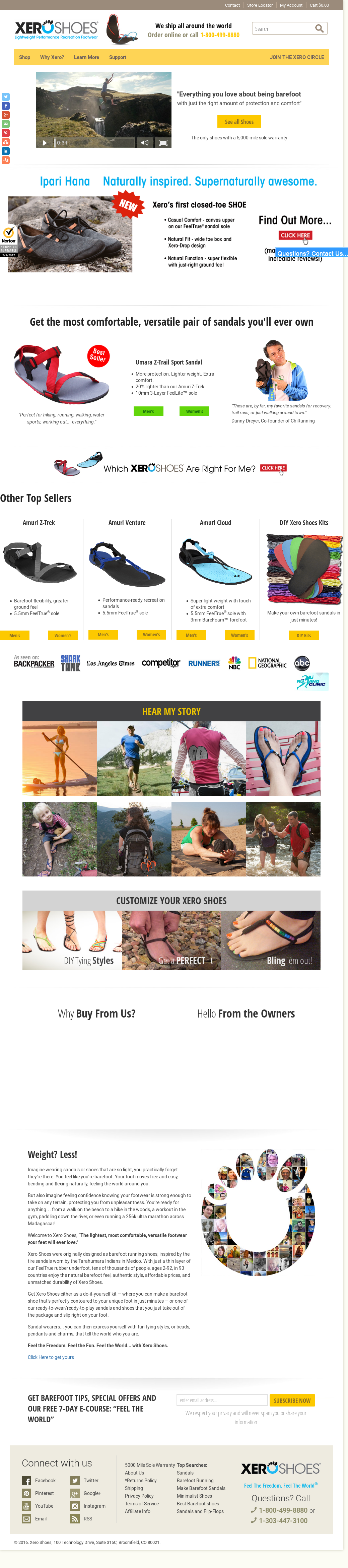 Xero Shoes Competitors, Revenue and Employees Owler