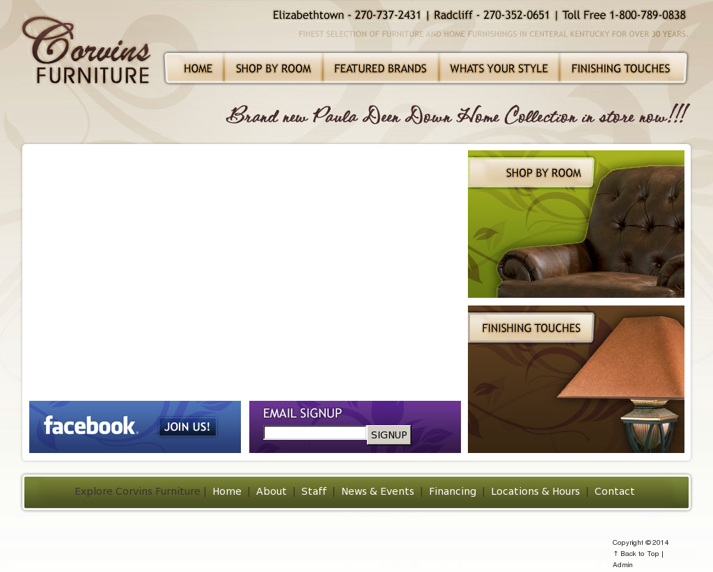Merveilleux Corvins Furniture Website History