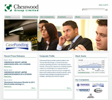 Chesswood Group website history