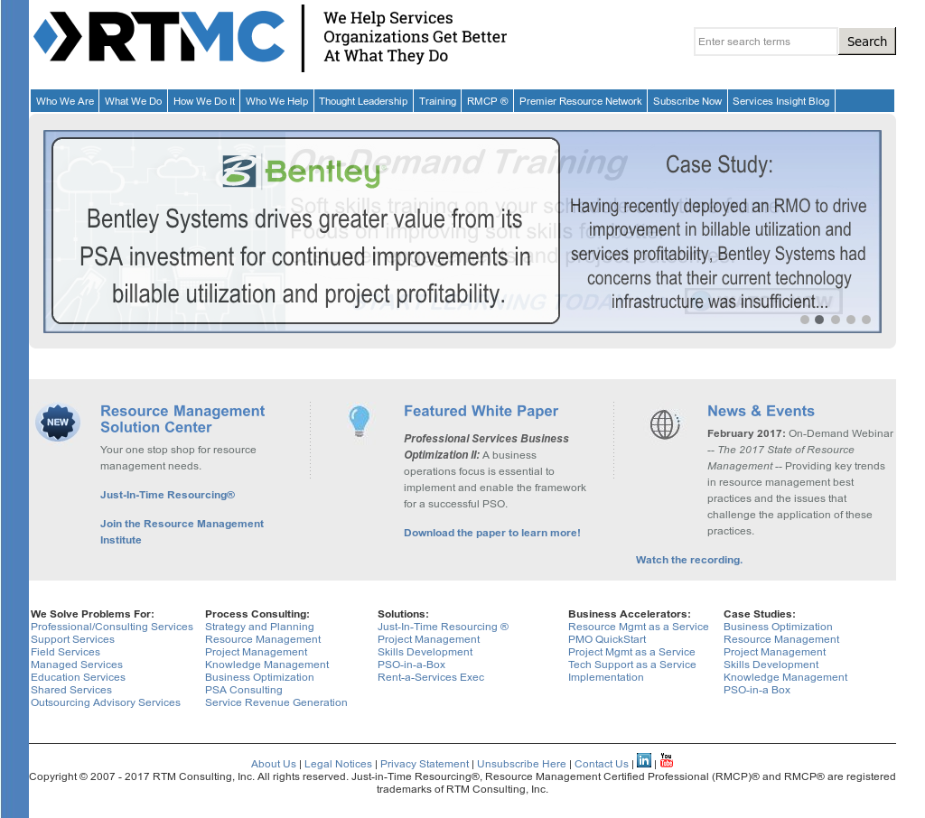 RTM Consulting Competitors, Revenue and Employees - Owler Company