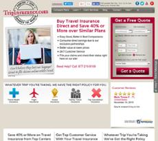 Tripinsurance.com website history