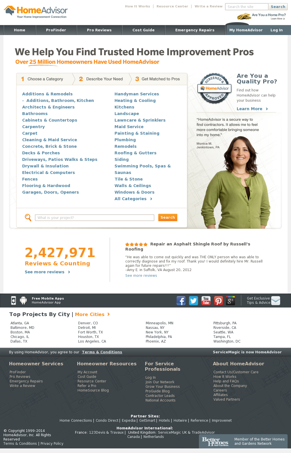Homeadvisor Competitors Revenue And Employees Owler Company Profile