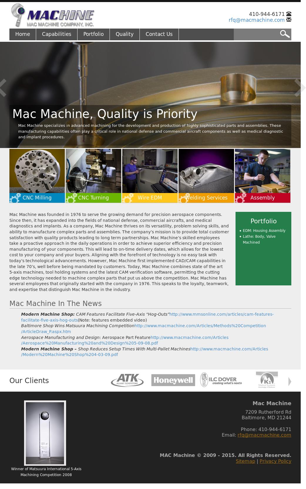 MAC Machine Competitors, Revenue and Employees - Owler Company Profile