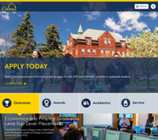 Canisius College website history