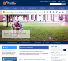University of Virginia website history