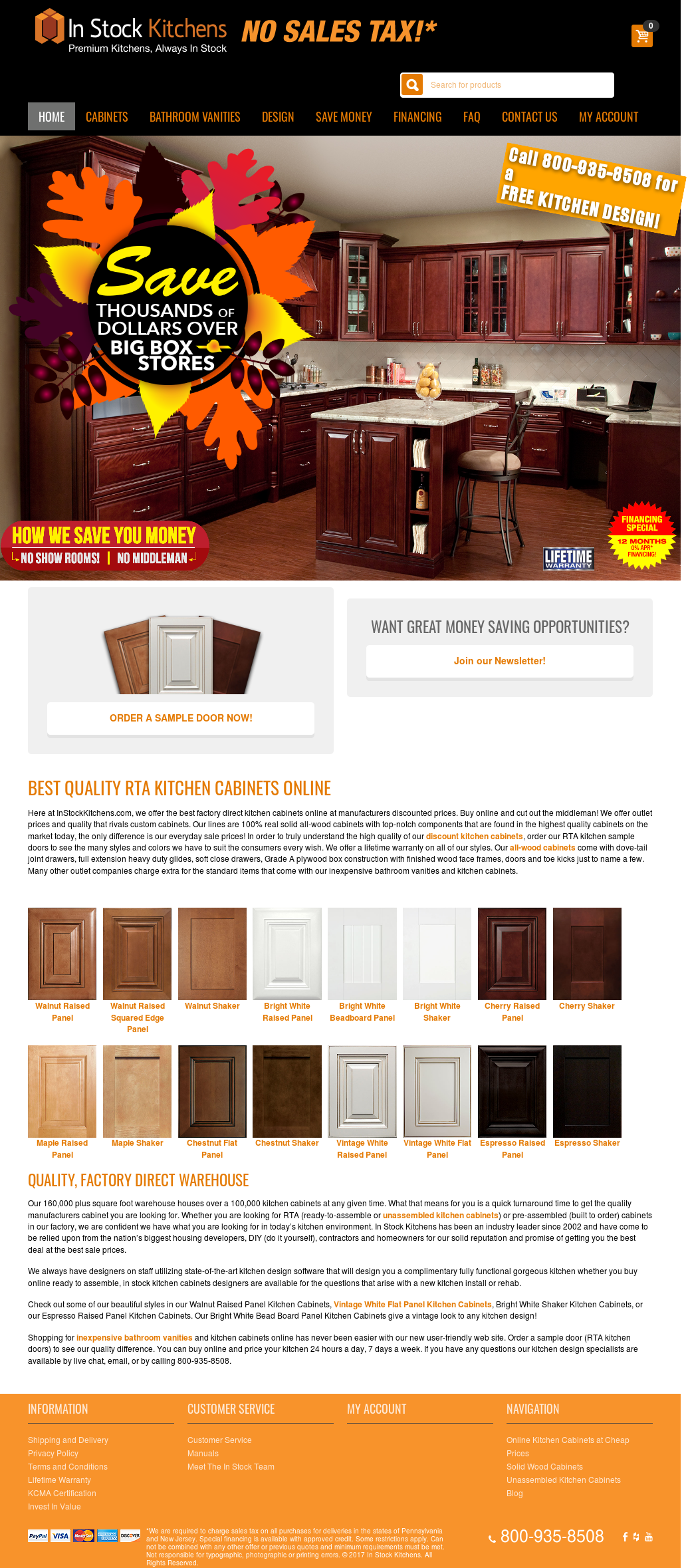 Instock Kitchens Competitors, Revenue and Employees - Owler Company ...