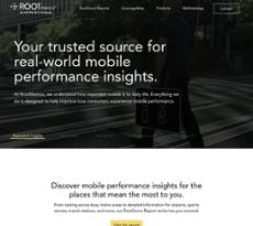 RootMetrics website history