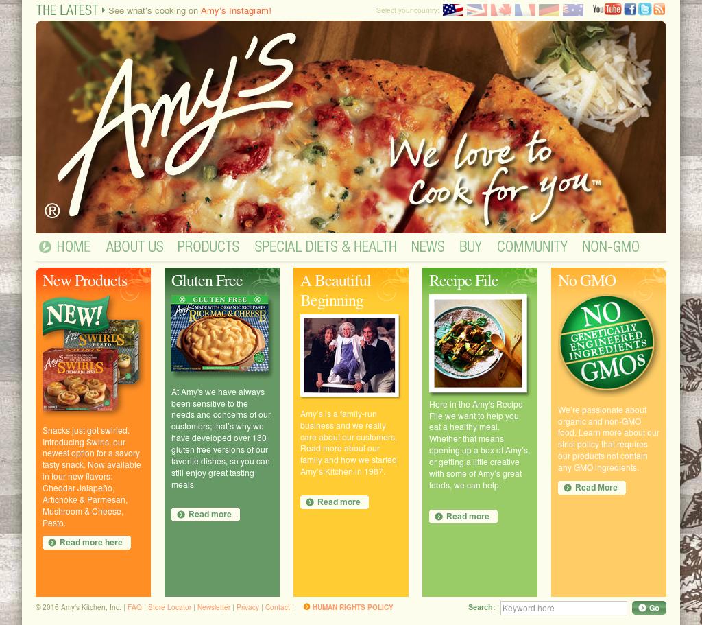 Amy S Kitchen Revenue