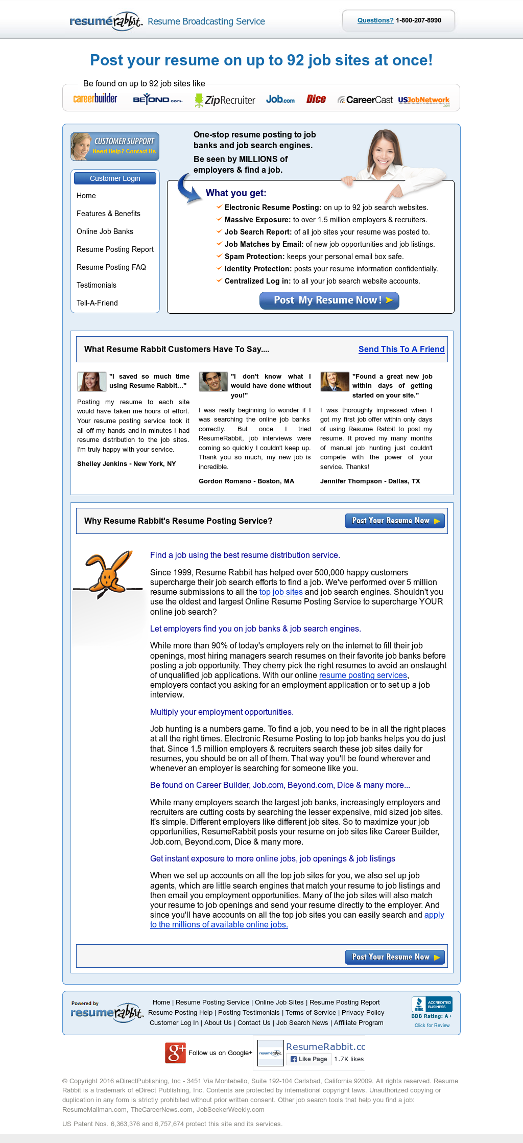 Resume Rabbit Competitors, Revenue and Employees - Owler Company Profile