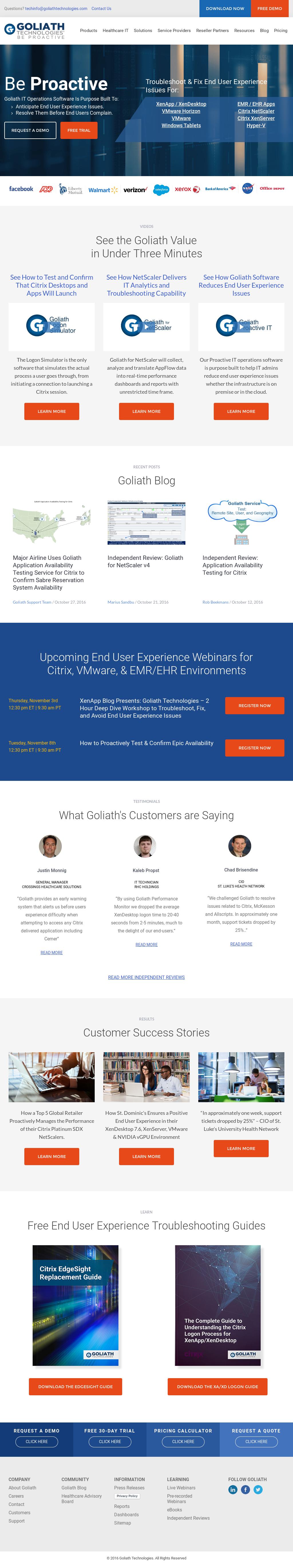 Goliath Competitors, Revenue and Employees - Owler Company Profile