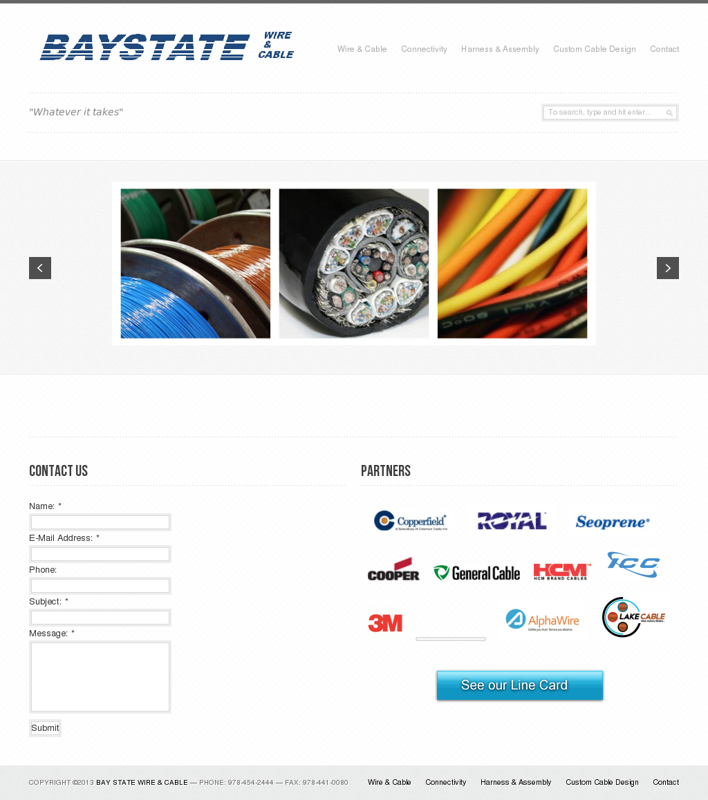 Bay State Wire & Cable Competitors, Revenue and Employees - Owler ...