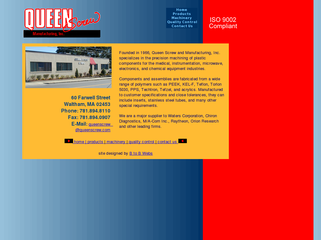 Queen Screw and Manufacturing Competitors, Revenue and Employees
