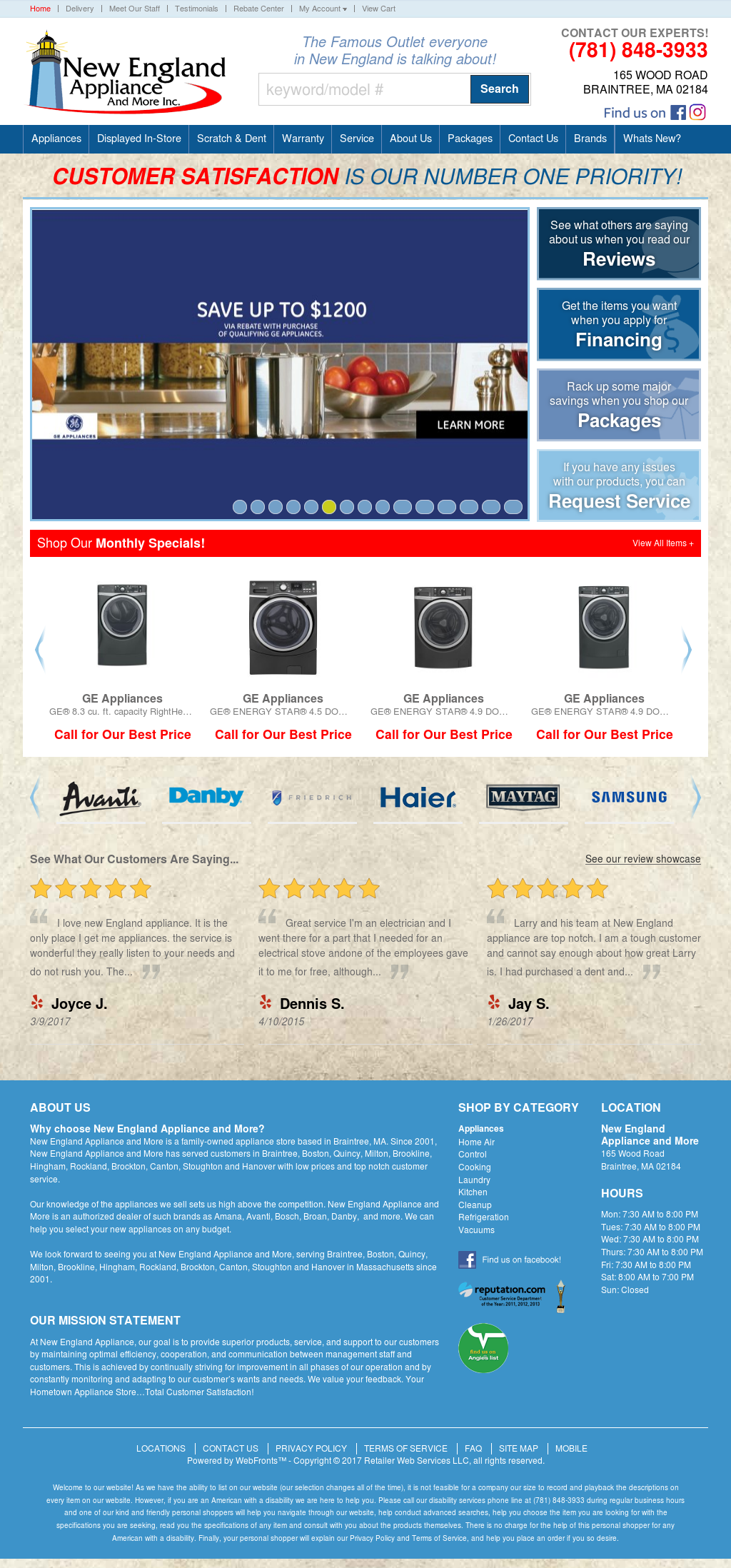 New England Appliance Competitors Revenue And Employees Owler Company Profile
