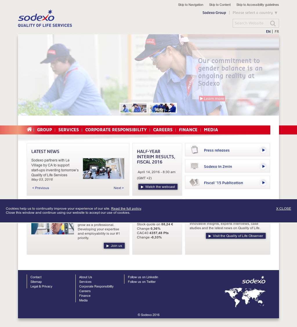 Sodexo Competitors Revenue And Employees Owler Company Profile Voucher 100