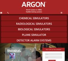 Argon website history