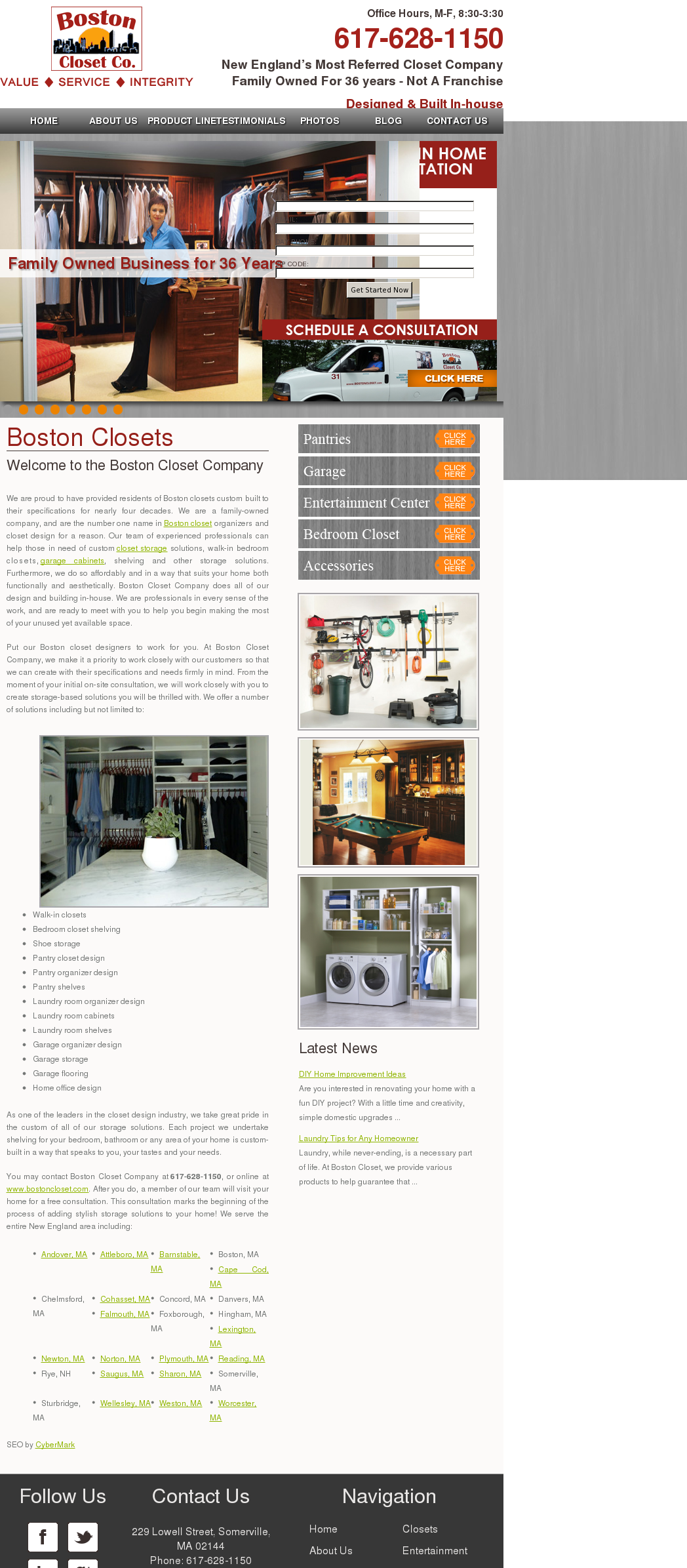 Boston Closet Competitors, Revenue And Employees   Owler Company Profile