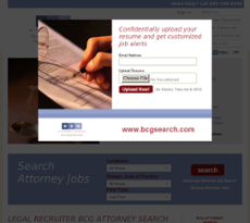 BCG Attorney website history