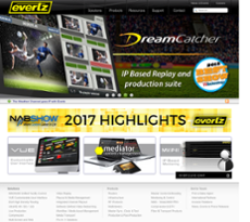 Evertz Microsystems website history
